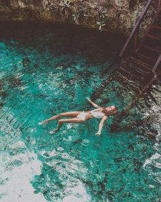 Cenote Zacil-ha, Tulum | via @lais_schulz Starbird