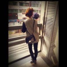 TTS last MCing on MuCore.. ㅋㅋㅋ  taeyeon_ss: I lost my job....lol...하. #Taengstagram #130413