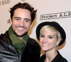 Vincent Piazza and Ashlee Simpson - celebrities supporting a powerful project: Project #ALS.