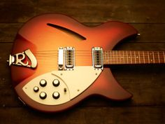 Rickenbacker 330 - Never wanted one, but they are awfully pretty.