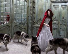 Little Red Riding Hood photography