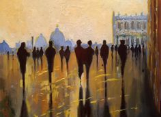 """""""View From San Marco""""  Betsy Havens  Oil #painting  18x24 #twitart @AlessandroForn6 @southernzorro Embedded image permalink"""
