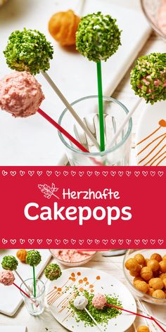 Aufgepasst. Heute gibt es bunte & herzhafte Cakepops für die ganze Familie. Hier sind deiner Fantasie keine Grenzen gesetzt. Viel Spaß beim Ausprobieren!