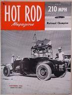 Hot Rod Magazine 1950 Nov ORIGINAL HRM Porterville Invitational Racing History