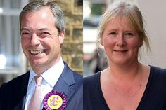 Meet Kirsten Farage, the wife of UKIP MEP for the South East of England and leader of UKIP, Nigel Farage. German-born Kirsten works as her husband's secretary and is the mother of two of his four children.