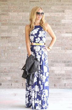 Fall Floral Dress and Leather Jacket - Haute & Humid