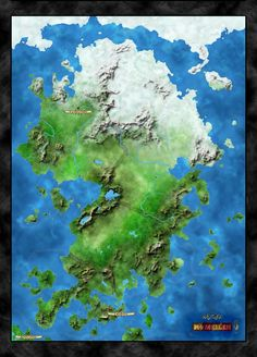 Fibonnaci Fantasy Continent by on DeviantArt Fantasy World Map, Fantasy Places, Rpg Map, Map Layout, City Landscape, Cartography, Writing A Book, Continents, Drawings