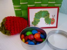 DIY Very Hungry Caterpillar party- favors