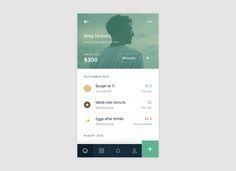 Mobile Profile #profile #uidesign #design #graphic #ui #userinterface #user #interface #apps #ios #socio #android #apple #mobile #animation #interaction #ux