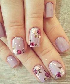 Decent Looking Flower Nail Art Designs