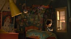 Visualize This: The Concept Art Behind ParaNorman's 3-D Printed World Norman's Room Final
