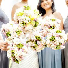 Earth-Toned Bridal Bouquet | Betsi Ewing Studio | TheKnot.com