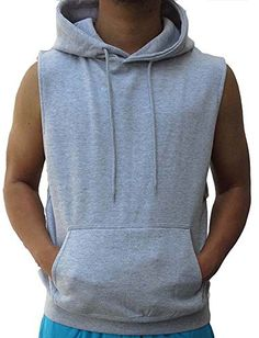 7cbbe8392b96a Sleeveless Hoodie vest. Perfect for Gym