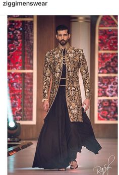 Things Mizan would wear Indian Men Fashion, Indian Bridal Fashion, New Mens Fashion, African Inspired Fashion, Komplette Outfits, Family Outfits, Fashion Outfits, Mens Leather Coats, Indian Groom Wear