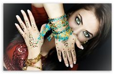 Indian Makeup wallpaper