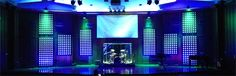 """Ben Salzmann from Topeka Bible Church in Topeka, Kansas brings us these panels of glowing dots. This design is an adaptation of the set """"Dots and Spots"""" from Evergreen Christian Community. The over..."""