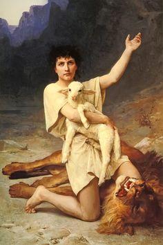 """""""The Shepherd David"""" Elizabeth Bouguereau - c1895 imgfullsize (1235×1854)"""