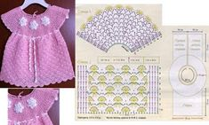 beautiful baby crochet patterns Archives - Beautiful Crochet Patterns and Knitting Patterns Beau Crochet, Crochet Girls, Crochet For Kids, Crochet Baby, Knit Crochet, Crotchet Patterns, Baby Dress Patterns, Knitting Patterns, Knitting For Kids