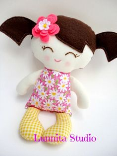 Handmade cloth doll... Earth-Friendly Doll... sweet baby