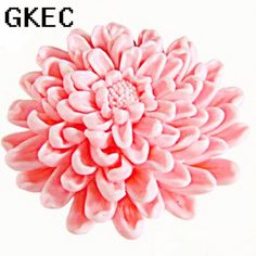 3D Chrysanthemums Flower Soap Silicone Molds Fondant Cake Decorating Tools Resin Clay Candle Mold Kitchen Baking Moulds