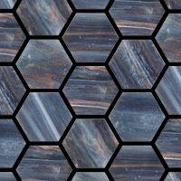 Trend Hexagonal 218- on floor of bathroom and shower (lighter grey grout if possible)