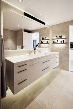 Beaucoup d\'idées en photos pour une salle de bain beige | Spaces ...