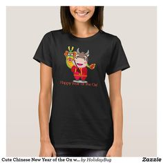 Cute Chinese New Year of the Ox with Dragon T-Shirt Plaid Christmas, Christmas Pajamas, Christmas Stars, Christmas Nativity, Christmas Fashion, Anti Trump T Shirts, St Patrick's Day Gifts, T Shirt Costumes, Red Plaid