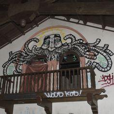 GATS (PTV) - Abandoned church graffiti - Bay Area, Ca
