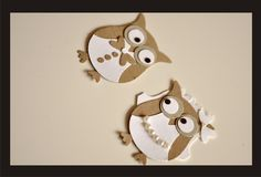 Stampin Up!  cutie owl, so many ways to dress them up.