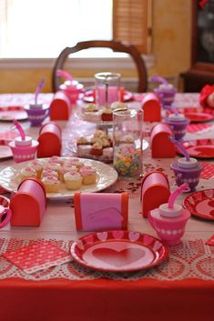 Valentine's Day Tea Party Valentine's Day Party Ideas | Photo 1 of 8