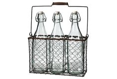 Hermetic Bottles w/ Caddy. https://www.onekingslane.com/invite/ericahaney USE THIS LINK FOR free $15.00 CREDIT!
