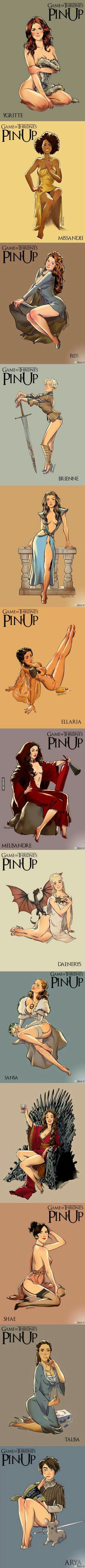 Game of Pin-up