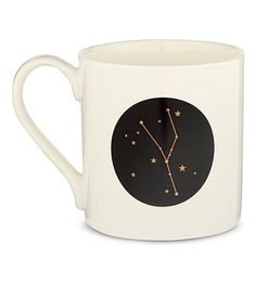LOLLIPOP DESIGNS Zodiac mug - Taurus