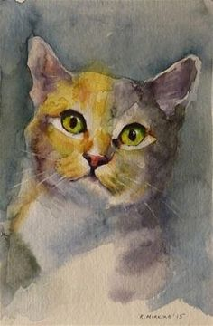 "Daily Paintworks - ""adopt83"" - Original Fine Art for Sale - © Katya Minkina"