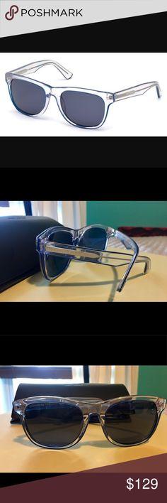 Dsquared2 men's sunglasses new in case clear/blue Dsquared2 men's sunglasses clear/blue color Liam model new in case ( no original case) will add a brand new case!! Retail $270 DSQUARED Accessories Sunglasses