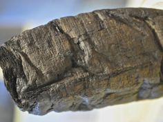 Ancient Scrolls Blackened by Vesuvius Are Readable at Last  X-ray scans can just tease out letters on the warped documents from a library at Herculaneum     Read more: http://www.smithsonianmag.com/history/ancient-scrolls-blackened-vesuvius-are-readable-last-herculaneum-papyri-180953950/#JeoBMdQVyMTWVyUf.99 History | Smithsonian