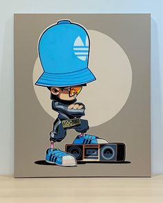 Graffiti Piece, Graffiti Drawing, Arte Hip Hop, Hip Hop Art, Character Concept, Character Art, Character Design, Dj Logo, Mickey Mouse Art