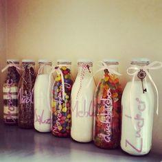 Geschenk, Present, Flasche, Flaschengeschenk, Richtfest, Einzug, Flasche, DIY,