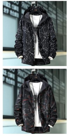 Cool Jackets For Men, Men's Coats And Jackets, Windbreaker Jacket Mens, Denim Jacket Men, Mens Indian Wear, Hype Clothing, Tomboy Fashion, Men's Fashion, Men Looks