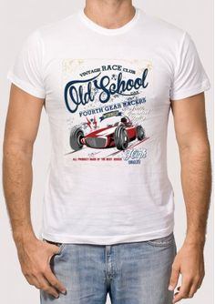 Camiseta Old School Race