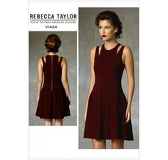 Patron Vogue V1424 : Robe Taille : 42-50
