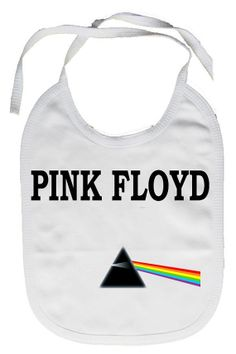 Baby bib PINK FLOYD rock funk hard rock bib One by CuteeeBaby, $8.99