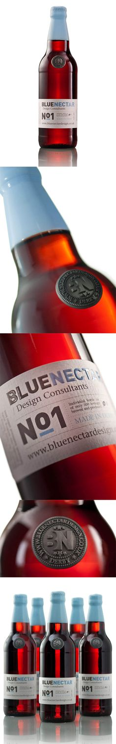 Blue Nectar #packaging #identity #design #branding