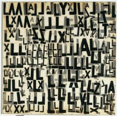 Mira Schendel, Objeto grafico, 1967-8