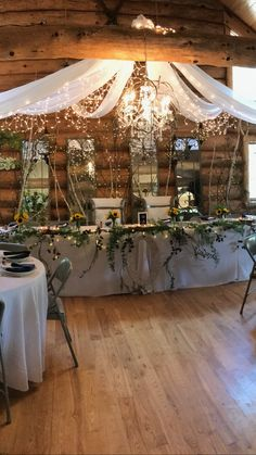 Wedding Venue at Keyes Peak in Florence County Prom Venues, Wedding Venues, Enchanted Forest Prom, Wedding Decorations, Table Decorations, Traditional Design, Florence, Interior Design, Home Decor