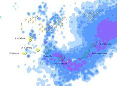 Granizo, tormentas, fuertes lluvias, fuertes vientos, fuerte oleaje, Canarias, 18 y 19 febrero