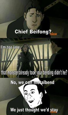 The Legend of Korra: hahahaha