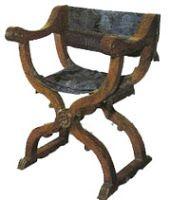 Renacimiento Italiano- silla dantesca