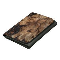 Tree Stump Wallet