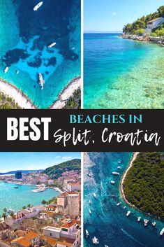 The BEST Split Beaches For Your Croatian Vacation babies flight hotel restaurant destinations ideas tips Europe Travel Guide, Travel Destinations, Vacation Travel, Beach Travel, Travel Packing, Usa Travel, Solo Travel, Budget Travel, Best Beaches In Split